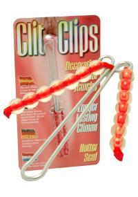 Bijuterii rosii Clit Clips