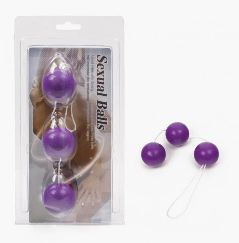 Bile anale Sexual Balls Purple