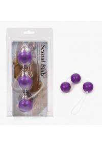 Bile anale Sexual Balls Purple