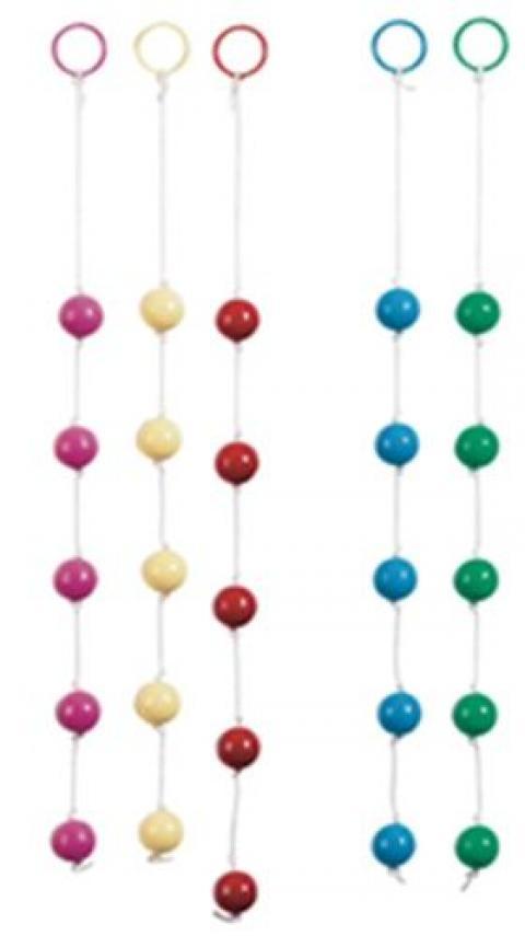 Bile Multicolore Anal Beads