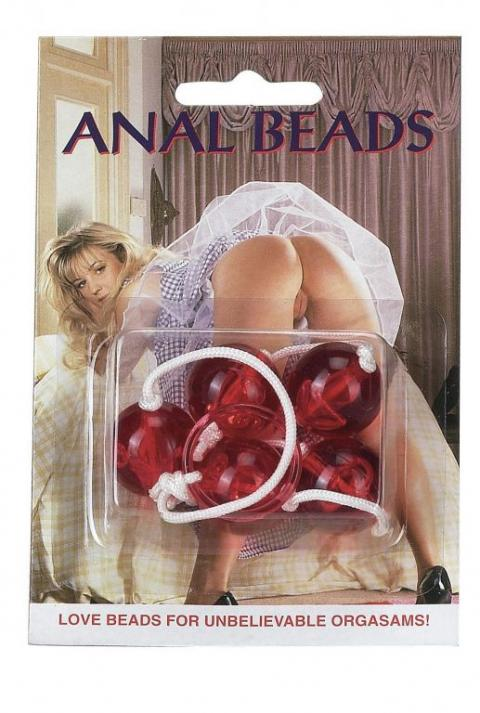 Bile rosii Anal Beads