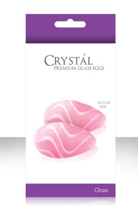 Bile Vaginale Crystal Kegels Roz