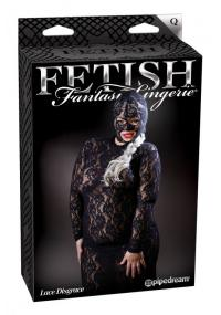 Catsuit Fetish Queen Size Lace Disgrace
