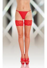 Ciorapi rosii Stockings 5520