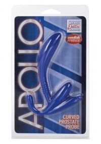 Dildo Anal Albastru Apollo Prostate Probe
