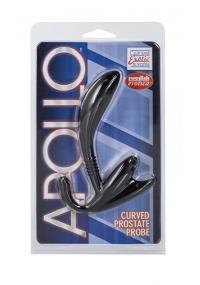 Dildo Anal Negru Apollo Prostate Probe