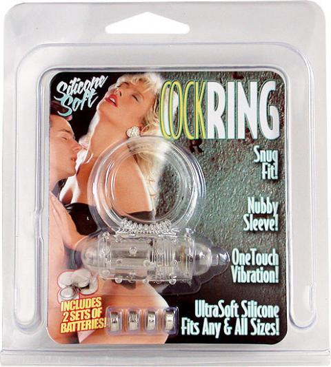 Inel Penis Cockring Vibrating Incolor