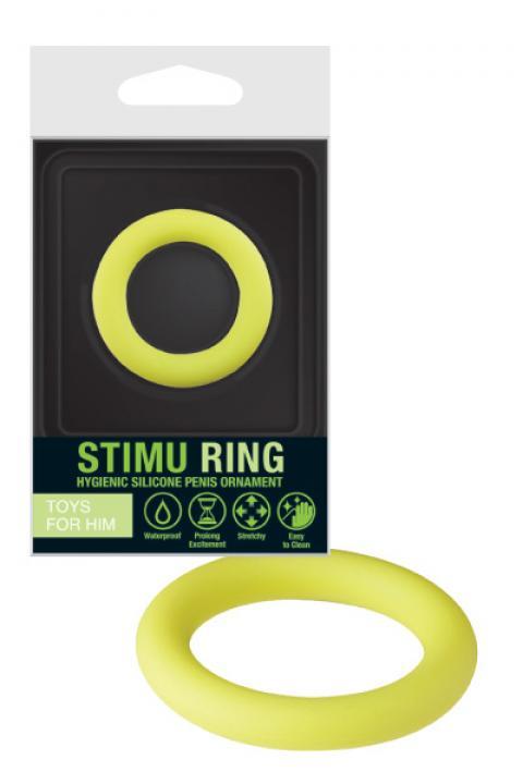 Inel pentru penis Stimu Ring Verde