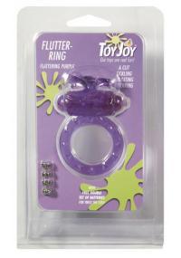 Inel Vibrator pentru Penis Flutter Ring Mov