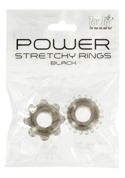 Inele pentru penis Power Rings Negru