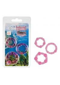 Inele Roz pentru Penis Island Rings