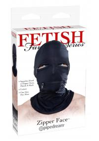Masca Fetish Zipper Face