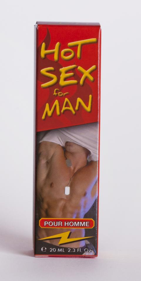 Picaturi Afrodisiace Hot Man 20 ml