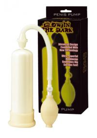Pompa Marire Penis Fosforescenta Glow in The Dark