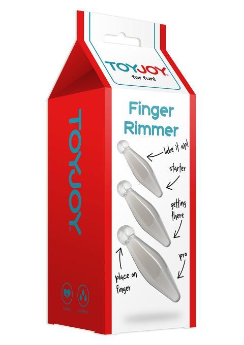Set butt plug Finger Rimmer