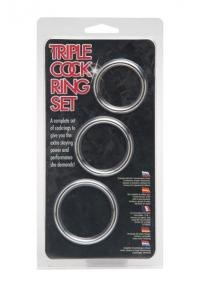 Set Inele Penis Triple Cockring