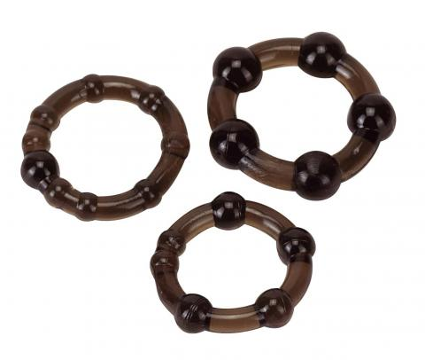 Set Inele Pro Rings Frosted Black