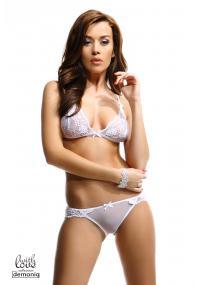 Set Lenjerie Sexy Olivia Alb