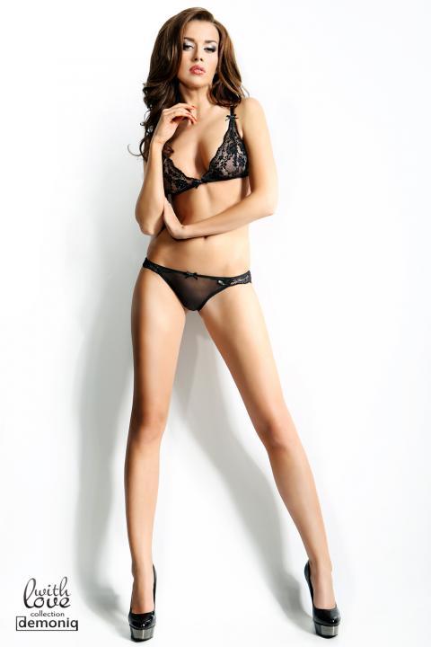 Set Lenjerie Sexy Olivia Negru