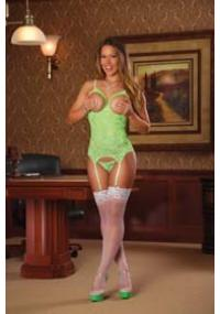 Set Sexy Verde Deschis Merry Widow