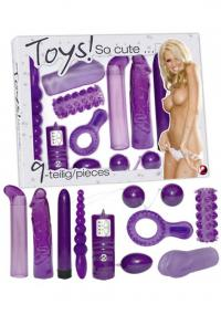 Set Vibratoare Lila So cute