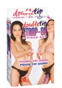 Strap On Double Tip