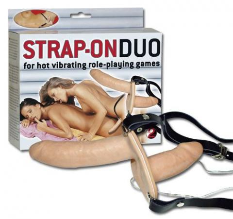 Strap On Duo Vibro
