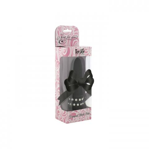 Vibrator Mini Diamond Petit Negru
