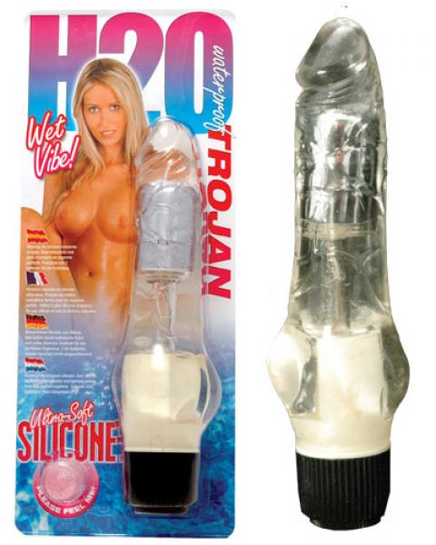Vibrator Waterproof Trojan Incolor